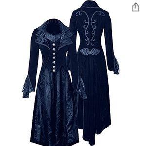 Jackets & Blazers - 2/$40 Navy Blue Swallowtail Costume Jacket